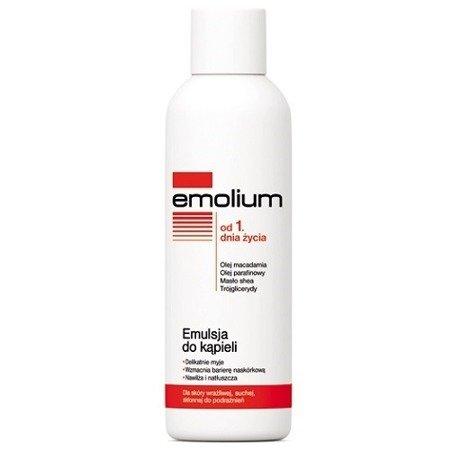 Emolium EMULSJA do kąpieli - cera bardzo sucha, 200 ml.