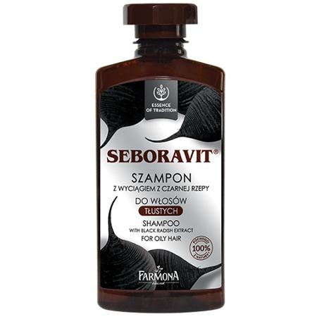 Seboravit - SZAMPON do włosów przetłuszczających się i łojotokowych, 300 ml.