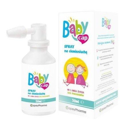 BabyCap - SPRAY na ciemieniuchę od 1 dni życia, 30 ml.