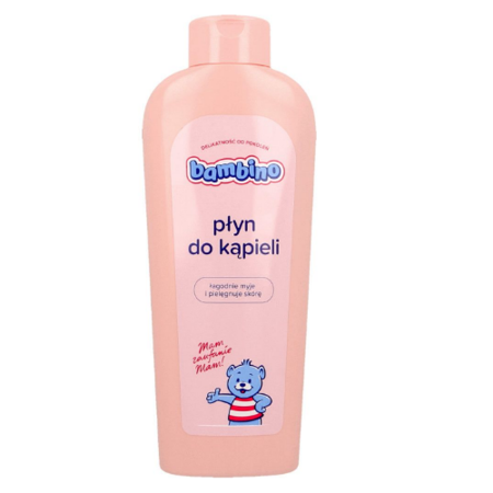 Bambino - PŁYN do kąpieli dla dzieci powyżej 1 miesiąca życia, 400 ml.