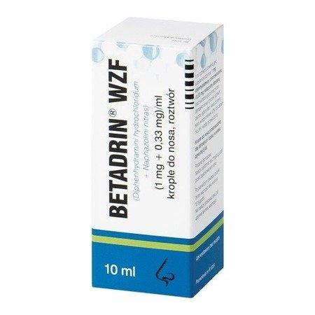Betadrin - KROPLE do nosa, 10 ml.