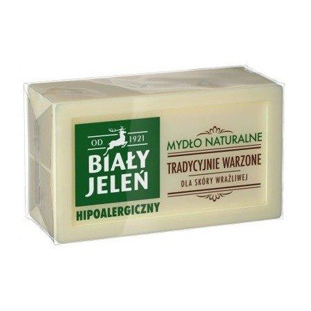 Biały Jeleń - MYDŁO Naturalne (Szare mydło), 150 g.