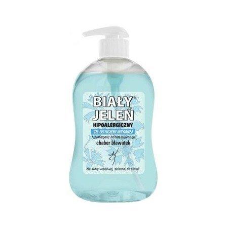 Biały Jeleń - ŻEL do higieny intymnej, chaber bławatek, 500 ml.