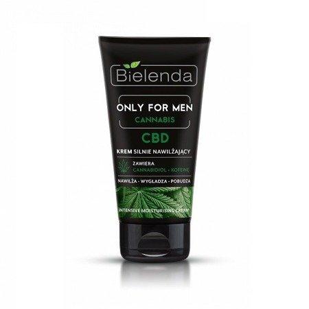 Bielenda ONLY FOR MEN Cannabis, KREM silnie nawilżający, 50 ml