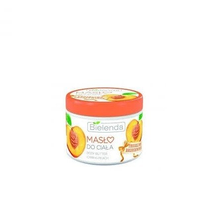 Bielenda - Troskliwa Brzoskwinia - PEELING cukrowy do ciała, 200 ml.