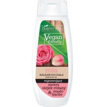 Bielenda Vegan Friendly, BALSAM do ciała Róża, 400 ml. Opakowanie promocyjne!