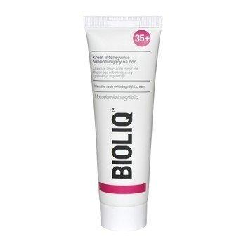 Bioliq 35+ - KREM intensywnie odbudowujący na NOC, likwiduje zmarszczki mimiczne i wspomaga odbudowę skóry głęboko ją regenerując, 50 ml.