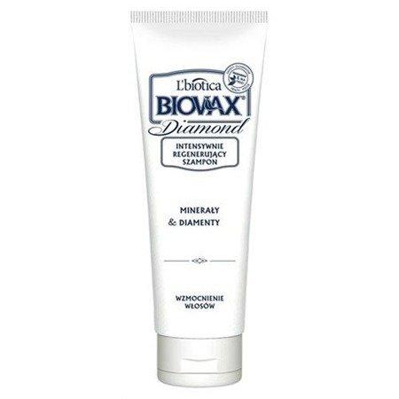 Biovax Glamour DIAMOND - SZAMPON intensywnie regenerujący do włosów z pyłem diamentowym i minerałami, 200ml.