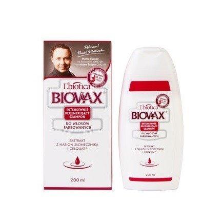 Biovax - SZAMPON do włosów farbowanych. 200 ml.