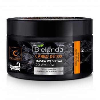 Carbo Detox - MASKA węglowa do włosów, 300 ml.