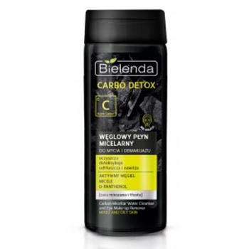 Carbo Detox - PŁYN micelarny do demakijażu, 200 ml.