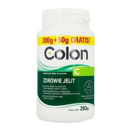 Colon C - Dla zdrowych jelit, 250 g.