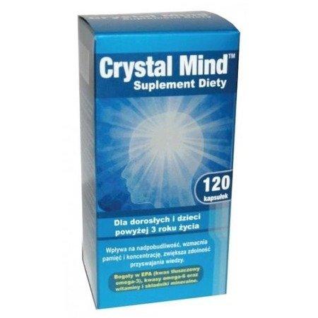 Crystal Mind, 120 kapsułek.