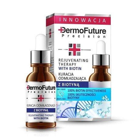 DermoFuture Precision, KURACJA odmładzająca z Biotyną, 20 ml.