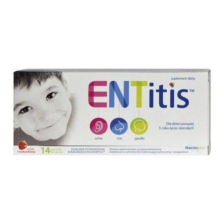 ENTitis, 14 pastylek do ssania.