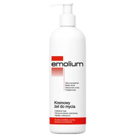 Emolium - kremowy żel do mycia, 400 ml.