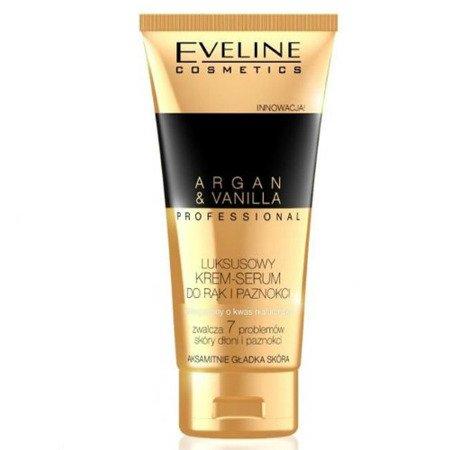 Eveline - Argan Oil - Luksusowy KREM/SERUM do rąk i paznokci, 100 ml.