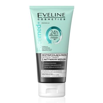 Eveline - Facemed+ Oczyszczająca PASTA z aktywowanym węglem, 150 ml.