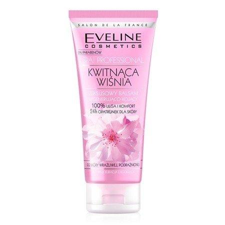 Eveline - SPA Professional - Kwitnąca Wiśnia - BALSAM luksusowy do ciała regenerująco-kojący, 200 ml.