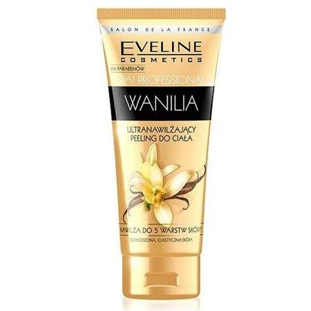 Eveline - SPA Professional - Ultra nawilżający PEELING do ciała WANILIA, 200 ml.