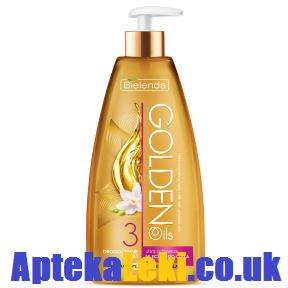 Golden Oils - MLECZKO do ciała, ultra odżywcze, 250 ml.