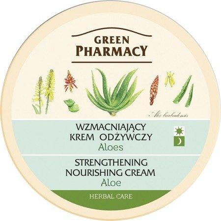 Green Pharmacy - KREM do twarzy ALOES na dzień i noc, 150 ml