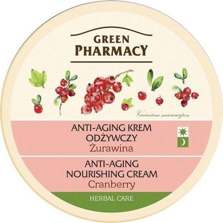 Green Pharmacy - KREM do twarzy ŻURAWINA na dzień i Noc, 150 ml.