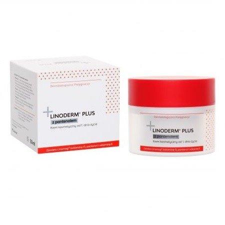 Linoderm Plus z Pantenolem - KREM, 50 ml. Ziołolek