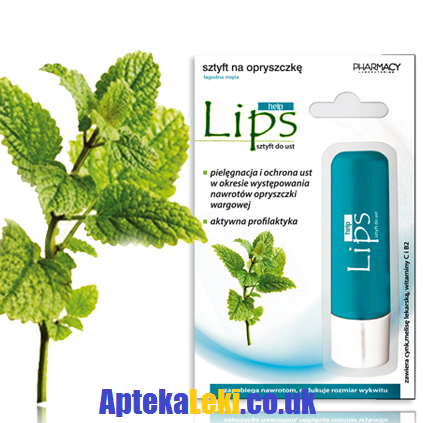 Lips Help - SZTYFT na opryszczkę, 3,8 g.