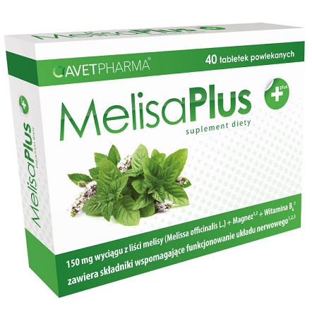 Melisa PLUS, 40 tabletek. AvetPharma