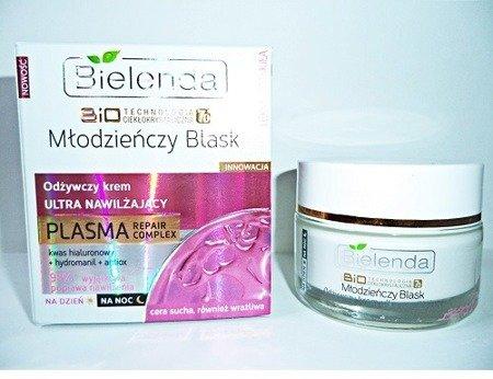 Młodzieńczy Blask - KREM odżywczy, ultra nawilżający PLASMA na DZIEŃ i NOC, 50 ml.