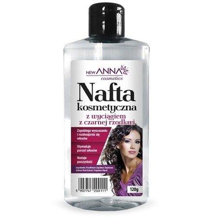 Nafta kosmetyczna - Z wyciągiem z czarnej rzodkwi, 160 ml.(Anna)