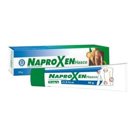 Naproxen 1,2% - ŻEL przeciwbólowy, 50 g. Hasco