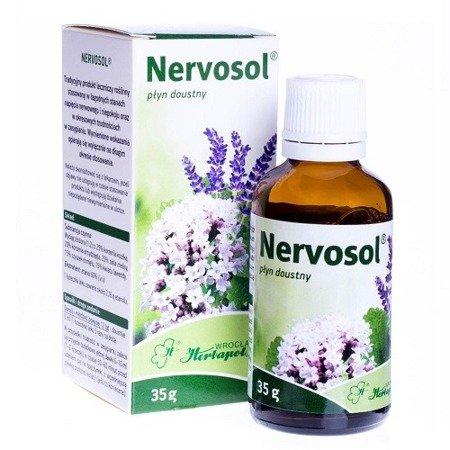 Nervosol - KROPLE uspokajające, 35 ml.