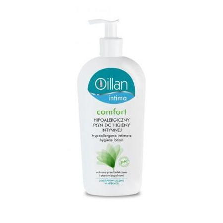 Oillan - Intima Comfort, Hipoalergiczny PŁYN do higieny intymnej, 400 ml.