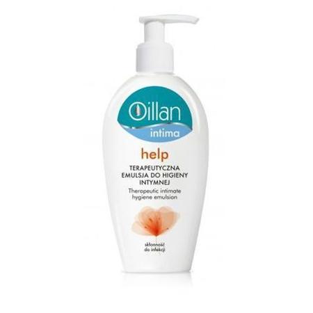 Oillan - Intima Help, Terapeutyczna EMULSJA do higieny intymnej, 200 ml.