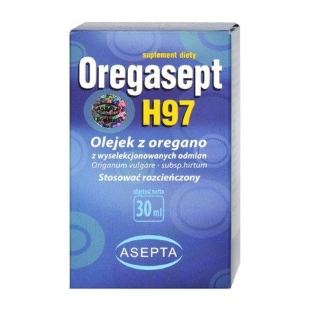 Oregasept H97 - OLEJEK z oregano . 30 ml.