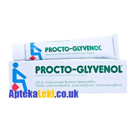 Procto-Glyvenol - Krem przeciw hemoroidom, 30 g.