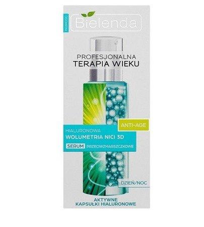 Profesjonalna Terapia Wieku - Anti-Age - Hialuronowa Wolumetria Nici 3D SERUM przeciwzmarszczkowe dzień/noc, 30 ml.