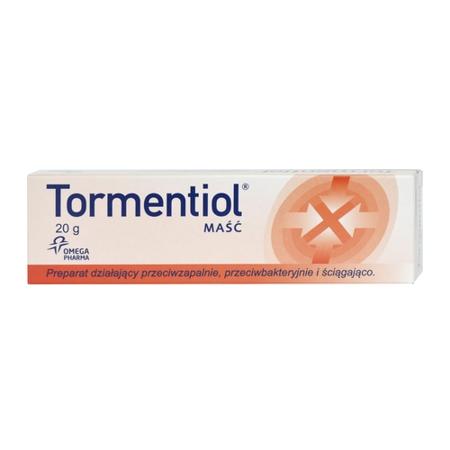 Tormentiol - MAŚĆ na rany, 20 g.