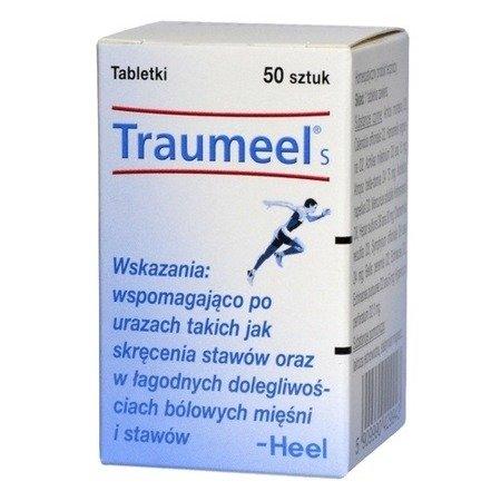 Traumeel S - Na bóle pourazowe i stany zapalne, 50 tabletek.(Heel)