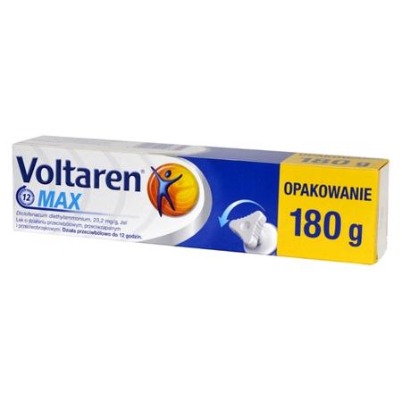 Voltaren MAX - ŻEL przeciwbólowy, 180 ml.