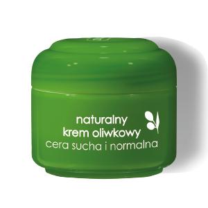 Ziaja - Oliwkowa - Naturalny KREM oliwkowy, do cery suchej i normalnej, 50 ml.