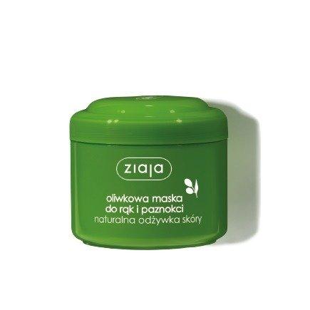 Ziaja - Oliwkowa - Odżywcza MASKA do rąk i paznokci , 75 ml.