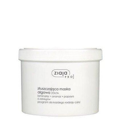 Ziaja - PRO – MASKA algowa złuszczająca do każdego rodzaju cery, 155 g.