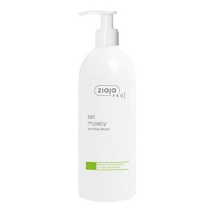 Ziaja - PRO – ŻEL myjący, antybakteryjny, do cery trądzikowej, 500 ml.