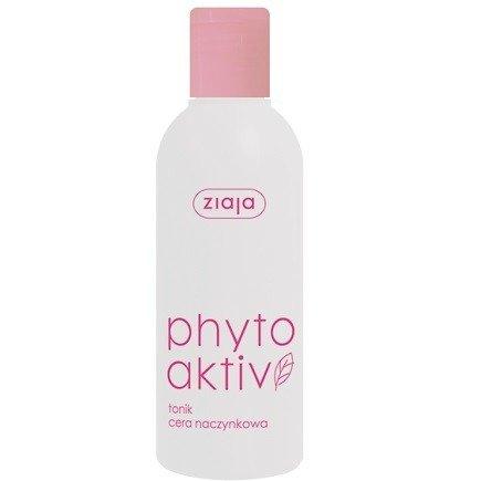 Ziaja - Phytoaktiv - TONIK do twarzy, polecane do cery naczynkowej, 200 ml.