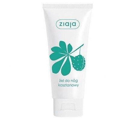 Ziaja - Pielęgnacja stóp - ŻEL kasztanowy do pielęgnacji nóg, 100 ml.
