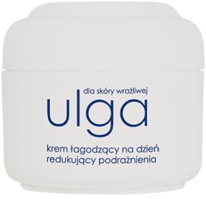 Ziaja - Ulga - KREM łagodzący na DZIEŃ, 50 ml.