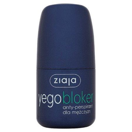 Ziaja Yego BLOKER - antyperspirant dla mężczyzn - roll-on, 60 ml.
